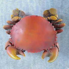 螃蟹形烟灰缸