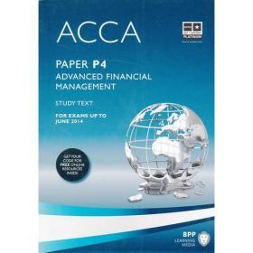 ACCA P4 Advanced Financial Management  (Study Text) 英文版 高级财务管理 教科书