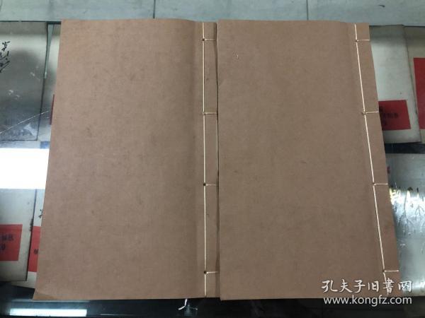 兰竹谱 金陵王寅冶梅氏述 清代刻本二册全,精修    清192