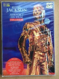 MICHAEL JACKSON英文情歌DVD未拆包装品如图