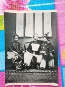 清朝时期老照片一枚
