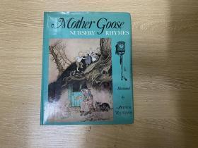 (私藏)Mother Goose   鹅妈妈童谣集,董桥喜欢的著名的 赖格姆 Arthur Rackham 彩色、黑白插图,精装16开