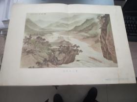 灌县都江堰(岑学恭 作 朝花美术1955年出版)一版一印,印数30000,孔网绝版