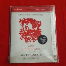 DVD光盘中国安东尼奥尼作品全球唯一2DVD+LIVRO无划痕能正常播放试过