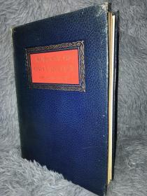 1954 Rubaiyat of Omar Khayyam 含12副Robert Stewart Sherriffs彩色插图 全皮装帧  三面刷金  24X18CM