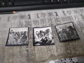 老照片 (文革期间老照片、知青在农村)    样片3张           甲本存放
