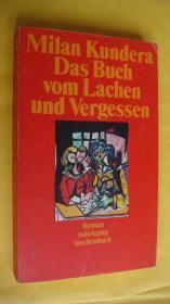 (Milan Kundera) Das Buch vom Lachen und Vergessen 德文原版 米兰昆德位著