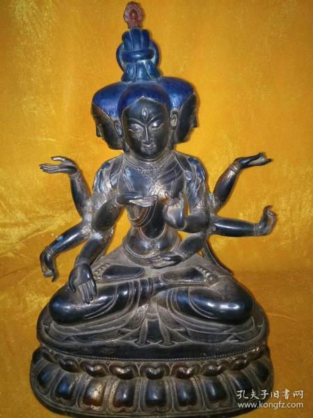 十六国时期铜佛像,纯铜的,低价出.-.--..-。。
