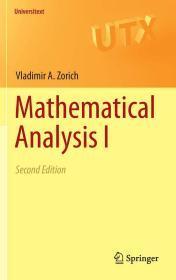 预订1-2周到货 Mathematical Analysis I: 1 (Universitext)   英文原版 经典大学数学教材系列:数学分析(第1卷)