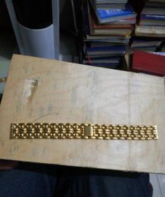 金光闪闪的表链2(品相非常好)(宽1.7厘米)
