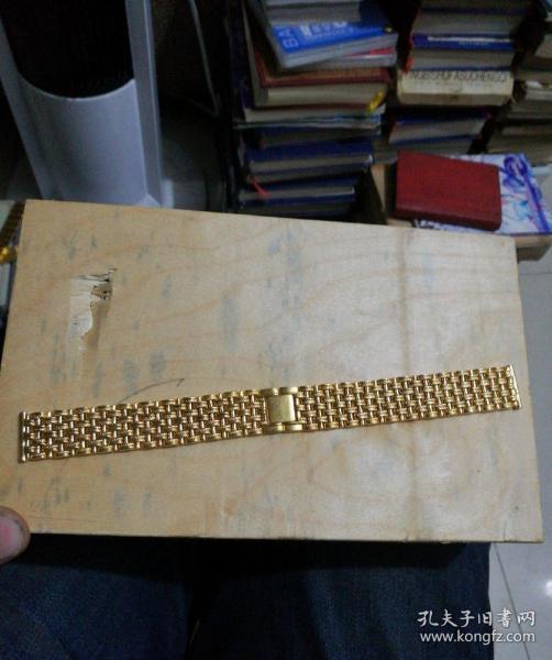 金光闪闪的表链3(品相非常好)(宽1.8厘米)