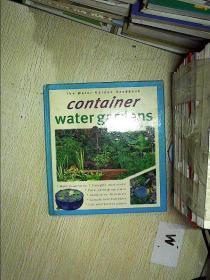 The Water Garden Handbook: Container Water Gardens水上花园手册:容器式水上花园