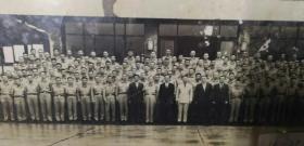民国黄埔军官学校第五期毕业照片