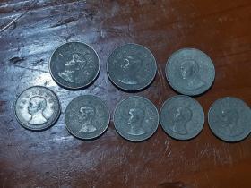 中华民国二十五年拾分硬币50元一枚,伍分硬币25元一枚,品相如图,保真看好再拍,非假不退(随机发)