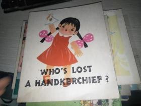谁的小手帕   英文版
