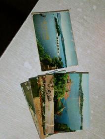 北京风景  明信片    西班牙语,内含10张