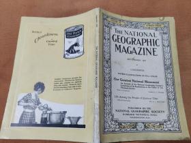 National Geographic September 1921 国家地理杂志1921年9月