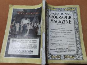 National Geographic December 1923 国家地理杂志1923年12月