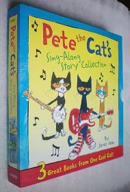 Pete the Cats Sing-Along Story Collection: 3 Great Books from One Cool Cat (全三册)精装12开原版外文书