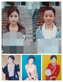 美女照片5张(其中2张是表演系学生)