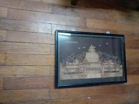 福州软木画:北京佛香阁