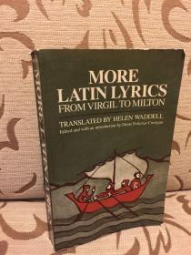 More Latin Lyrics, from Virgil to Milton - 拉英对照 Norton出品 高品质的平装书  美国初版初印