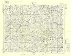 1935年《卢氏县内乡县栾川县老地图》图题为《叫河》(三门峡卢氏老地图、南阳内乡老地图、洛阳栾川老地图),日军军用,地图范围请看地图左上角分幅栏,全图比例尺十万分之一,测绘单位和年代详见图片。卢氏县、栾川县、内乡县地理地名历史变迁重要史料。此图质量较高。原图高清复制,裱框后,风貌佳。