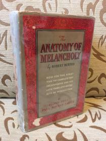 The Anatomy of Melancholy by Robert Burton -- 罗伯特 伯顿《忧郁的解剖》拉丁文完整英译版 Tudor 1927年出品 老版书