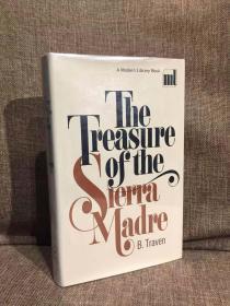 The Treasure of the Sierra Madre(B. 特雷文《碧血金沙》,金像奖获奖作品原著,布面精装带护封,经典Modern Library初版本)