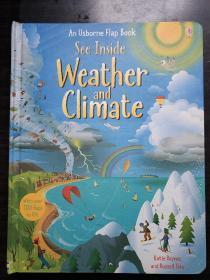 An Usborne Flap Book See Inside Weather and Climate 英文原版《揭秘天气及气候》