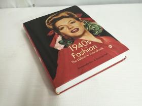 1940s Fashion: 20世纪40年代时尚复古时装插图 复古服装画册