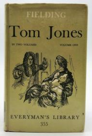 Henry Fielding: The History of Tom Jones, Introduction by A. R. Humphreys, Professor of English, University of Leicester. In Two Volumes, Volume One.英文原版-《亨利·菲尔丁:汤姆·琼斯的历史,莱斯特大学英语教授A·R·汉弗莱斯作序版。两卷本,第一卷》