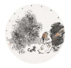 雷国艺 国画作品 名家真迹,假一赔十。雷国艺  现为中国美术家协会会员,中国美术家协会培训中心特聘画家,项城画院院长,项城市美术家协会主席。