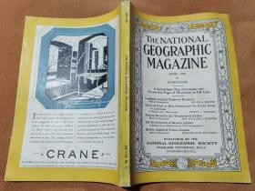National Geographic April 1930 国家地理杂志1930年4月