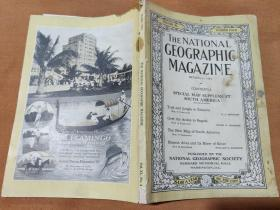 National Geographic October 1921 国家地理杂志1921年10月