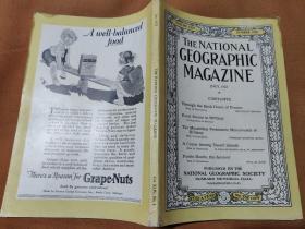 National Geographic July 1923 国家地理杂志1923年7月