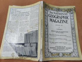 National Geographic January 1923 国家地理杂志1923年1月