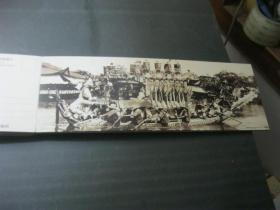 明信片--- 三十年代大上海---1本14页28张,长条形,2张相体大相片