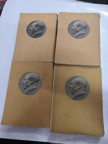 毛泽东选集(1-4册)(1951.1952.1953.1960年全一版一印)(书棱有点破,书里面有点黄斑,内容完整,以图片为准)