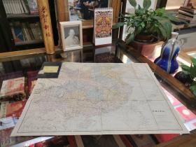 中印边界老地图(印地文)原版—稀见、孤品