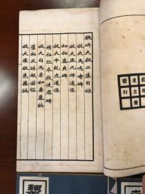 线装本:民国(魏碑大观)初集、二集