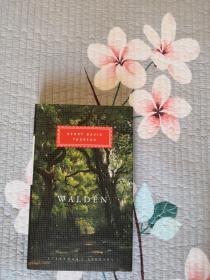 Walden 瓦尔登湖 Henry David Thoreau 亨利·戴维·梭罗 everymans library 人人文库 英文原版 布面精装 人人文库能够保证相同品相全网最低价;全网最全卖家,私藏近300种