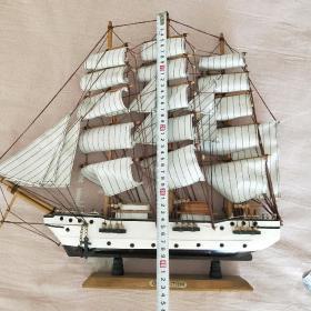 木制古帆船模型CONFECTION号-胜利号,海盗船,战舰帆船一帆风顺。