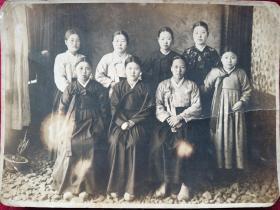 民国时期朝鲜美女照片