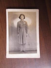 1952年女军人照片