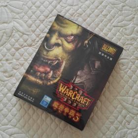 魔兽争霸 3 游戏光盘 游戏CD