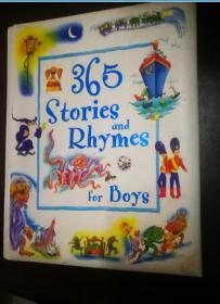 365 Stories & Rhymes for Boys