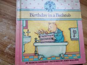 birthday in a bathtub