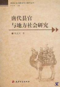 唐代县官与地方社会研究
