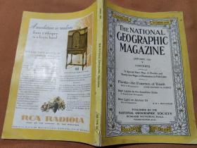 National Geographic January 1930 国家地理杂志1930年1月